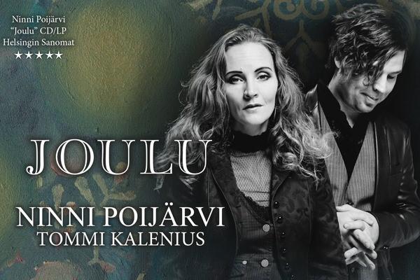 Ninni Poijärvi ja Tommi Kalenius -joulukonsertti